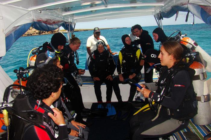 Diving on 7 seas